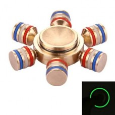 Metal Luminous Fidget Spinner Stress Releiver Toy