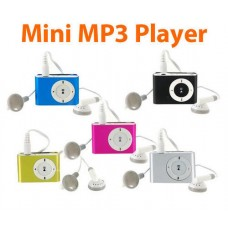 MP3 Player with Mini Clip Metal Case