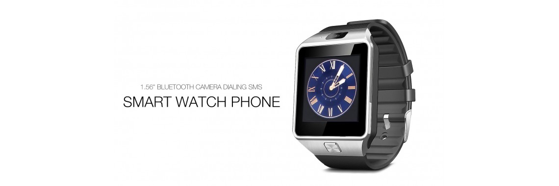 SIM and Memory Card Enabled Smart Watch