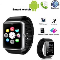 A! SIM and Memory Card Enabled Smart Watch with Hidden Camera for Android Phones