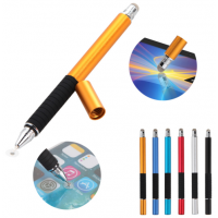 2 in 1 Fine Point Tip Capacitive Stylus with Ball Point Pen for Ipads, Samsungs, etc